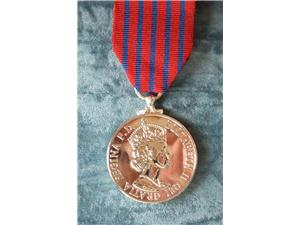 GEORGE MEDAL EIIR FULL SIZE REPLACEMENT COPY MEDAL