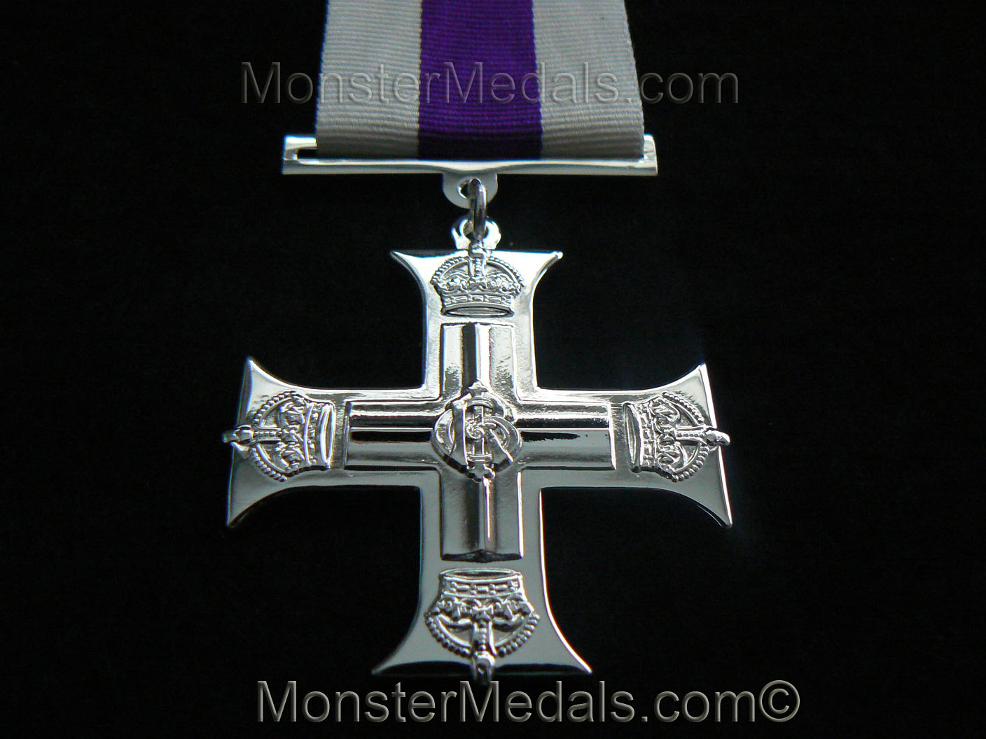 MILITARY CROSS FULL SIZE REPLACEMENT COPY MEDAL GV