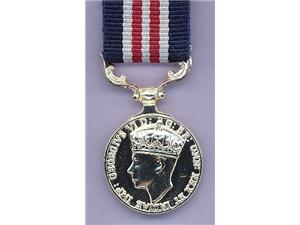 MINIATURE MILITARY MEDAL GVI