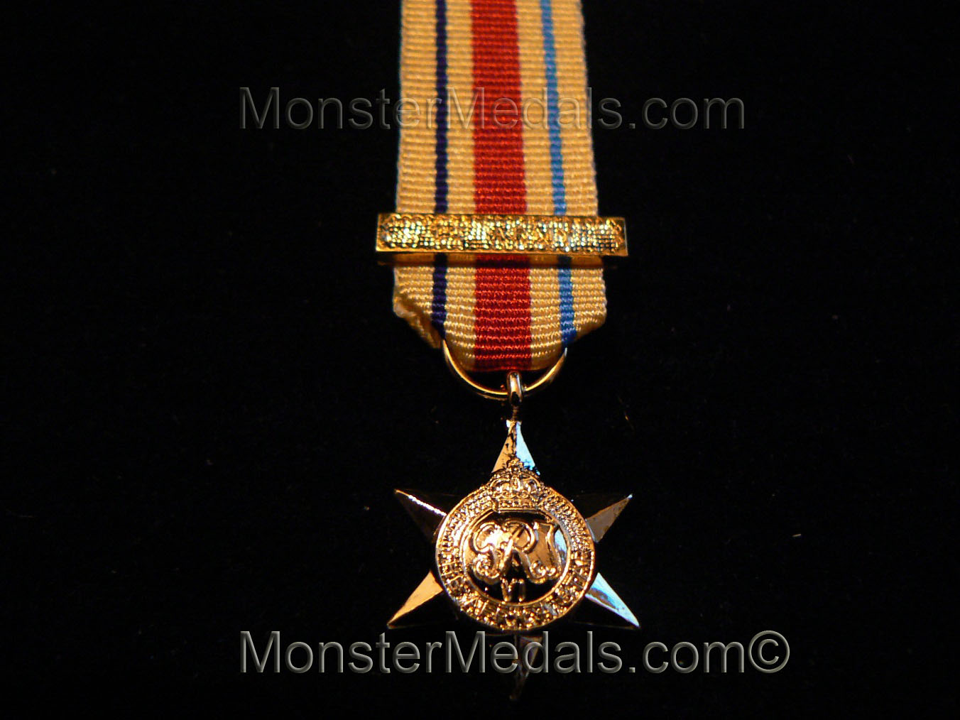 """WW2 /""""North Africa 1942-43/"""" clasp for Africa star"""