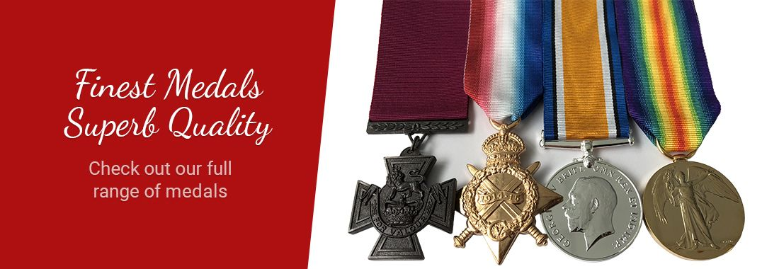 Finest Medals, Superb Quality