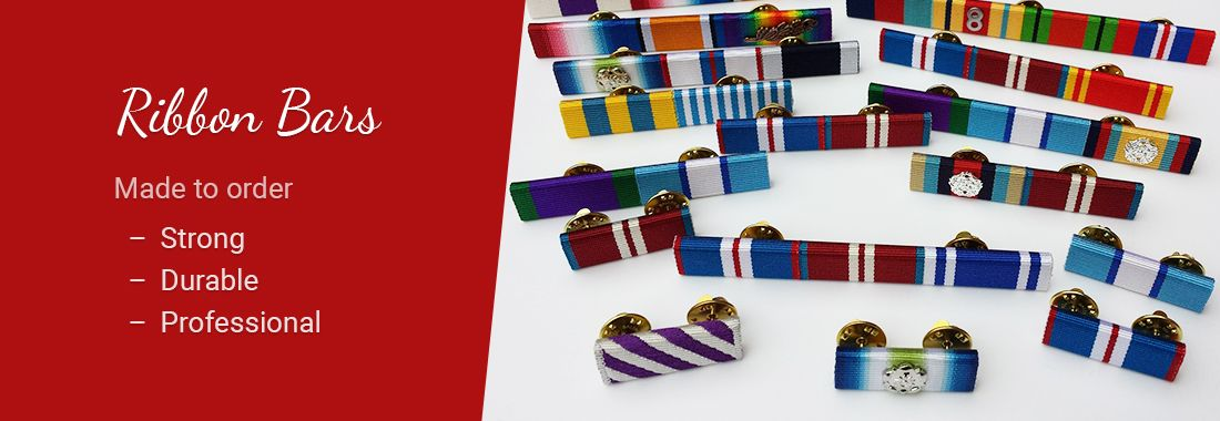 Ribbon Bars - Made to order